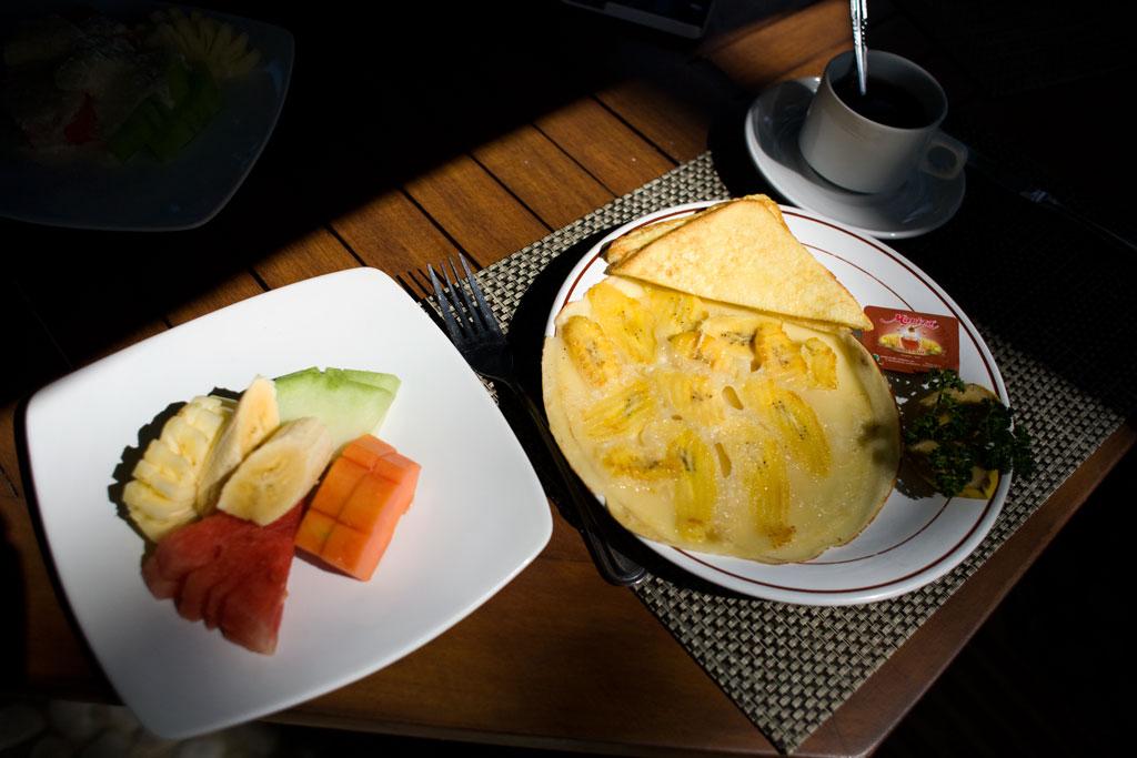 Ubud-frukost